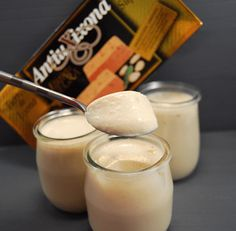 Glass Of Milk, Beverages, Candles, Desserts, Recipes, Nuevas Ideas, Mousse, Food, Appetizers