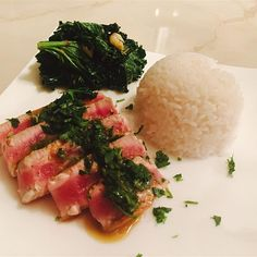 "Seared Tuna with Wasabi-Butter Sauce | ""I think this recipe is one of ..."