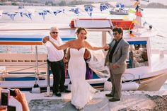 My goodness did I spend quite an afternoon pouring over todays breathtaking destination wedding in Poros, Greece! Beautiful Greek traditions and a spectacular venue! Poros Greece, Marie, Destination Wedding, Wedding Dresses, Beautiful, Fashion, Dress, Bride Dresses, Moda