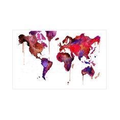 Beautiful World Canvas Print   dotandbo.com