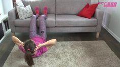 Abs. Ćwiczenia w domu: ćwiczenia na brzuch | wideo