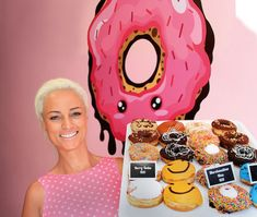 Success story: How Jeanne Brooks filled a sweet niche with gourmet doughnuts. A sweet tooth and sharp business nose led beautician Jeanne Brooks to make a career change, swapping her colon-hydrotherapy and detoxing spa for … gourmet doughnuts Success Story, Career Change, Doughnuts, Good To Know, Wicked, Sweet, Gourmet, Candy