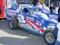 Billy Pauch's 1976 #15 on display at New Egypt Speedway ...