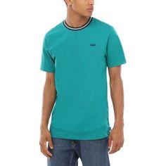 Buy Vans Girard T-Shirt at Europe's Sickest Skateboard Store Color Quetzal Size S Skateboard Store, Skateboard Fashion, Longboard Shop, Buy Vans, Casual Looks, Flannel, Skateboards, Polo Ralph Lauren, Mens Tops