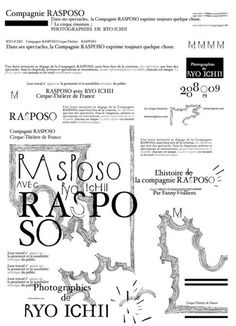 rasposo Graphic Design, Photography, Visual Communication