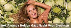 Ook Amanda Holden Gaat Naakt Voor Groenten