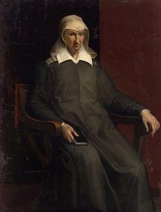 Bartolomeo Passarotti (1529-1592) - Ritratto di vecchia - 1582 - Vienna, Kunsthistorisches Museum