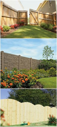 Give your home a fall makeover with a new fence. Enjoy the cool weather outside with everything you'll need to spruce up your backyard at The Home Depot.
