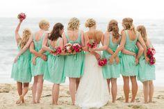 Cuando me case...  Tener damas de honor..