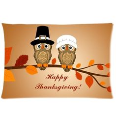 Happy Thanksgiving day Harvest Festival Printed Zippered Pillowcase Soft Pillow Case Cover 16 by Pillow fashiion -- Awesome products selected by Anna Churchill
