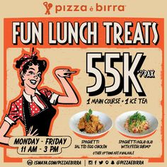 Pizza e Birra Promo Fun Lunch Treat http://www.perutgendut.com/read/pizza-e-birra-promo-fun-lunch-treat/5012 #Food #Kuliner #News #Promo