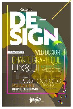 Graphic Design, Web Design, Corporate design...Toujours Designer...