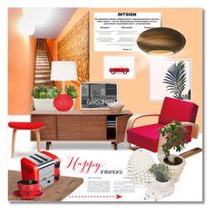 """Happy interiors"" by undici ❤ liked on Polyvore featuring interior, interiors, interior design, home, home decor, interior decorating, Graypants, Artek, Price & Kensington and Ceramiche Pugi"