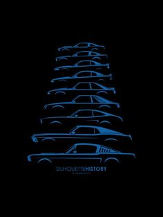 Ford Mustang Silhouette History