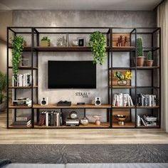 Home Room Design, Home Office Design, Home Interior Design, Living Room Designs, House Design, Home Living Room, Living Room Decor, Bedroom Decor, Home Decor Furniture
