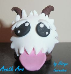 Poro from League of Legends Figurine/Keychain by Aneth Ara on Etsy  - Join the hottest social network for gamers now! http://Player.me