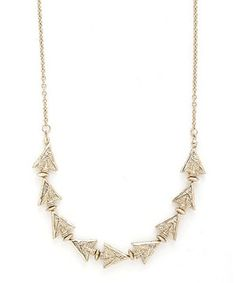 Love this Gold Zoe Necklace by OK1984 on #zulily! #zulilyfinds