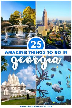 Discover the best things to do in Georgia with this guide to all the most incredible places in Georgia that you should visit during your next trip! Inside you'll find everything from where to hike in Georgia to iconic buildings, and so much more! Start planning your Georgia vacation today! I USA travel I places to go in Georgia I what to do in Georgia I hiking in Georgia I where to eat in Georgia I Georgia attractions I where to go in Georgia I places to visit in Georgia I #Georgia #USA Usa Travel Guide, Travel Usa, Travel Guides, Travel Tips, Us Travel Destinations, United States Travel, Travel Around, Cool Places To Visit, Travel Inspiration