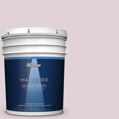 BEHR MARQUEE 5 gal. #T15-7 Secret Blush Satin Enamel Interior Paint