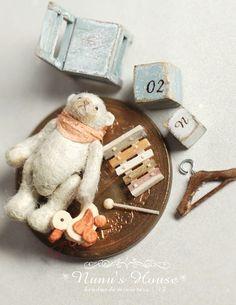 Nunu's House - Tanaka Tomo (handmade miniatures 1/12) - Mar 2013