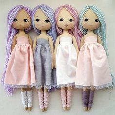 ♥ This is an Instant Download pdf Pattern file that youll be able to download and print immediately after purchase ♥ ✩✩✩ Sparkle Starling Doll pdf Pattern ✩✩✩ These sweet girls are made from fabric and are machine sewn. The pattern was designed with an array of options to help you