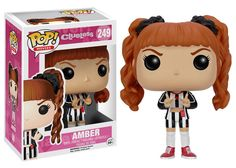 """Beverly Hills High School's most popular girls are now the most popular vinyl figures! This Clueless Amber Pop! Vinyl Figure features the red-headed teen holding her hands up to say, """"Whatever!"""" Stand"""