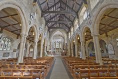 Here is a photograph taken from Bradford Cathedral. Located in Bradford, Yorkshire, England, UK.