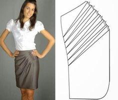 Moda e Dicas de Costura: TRANSFORMAÇÃO DE SAIA