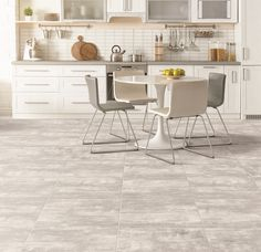 Cement-look tiles are the hottest look for 2020. It's all about urban living and industrial-inspired style. Embrace the trend in the newest shades of light grey, smoke and white. #trendingdesign #dreamhome #homegoals #cementlook #modernmetro #makeithappen