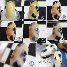 いいね!791件、コメント77件 ― Nail*FLEUR(フルール)_Maki.Futsukiさん(@nail_fleur0420)のInstagramアカウント: 「ホワイトべっ甲のレシピ。 お問い合わせを多く頂きましたので、とりあえず今の段階でのレシピを公開致します。…」 Asian Nail Art, Asian Nails, Fabulous Nails, Gorgeous Nails, Stone Nail Art, Champagne Nails, Japan Nail, Self Nail, Nail Art Techniques