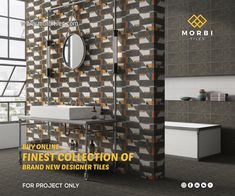 Morbitiles is a dedicated titles sourcing platform in India. We bridge the gap between Tiles Manufacturer, Architect and Builders. We make tiles procurement and selling journey simpler, smarter and faster! Wall Tiles Design, Tile Manufacturers, Of Brand, News Design, Platform, Templates, Projects, Stuff To Buy, Collection