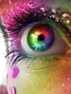 #julepcolorchallenge #createyourjulepcolor rainbow eye #mirabellabeauty Rainbow #eye