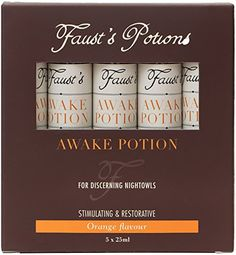 From 12.75 Faust's Potions Awake Potions For Discerning Night Owls 5