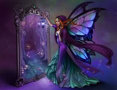 Fantasy Diamond Painting Kits that include Fairies and Dragons and all things fantasy. Beautifully designed and brilliant diamonds set these wonderful kit Elfen Fantasy, 3d Fantasy, Fantasy Fairies, Dark Fairies, Enchanted Fairies, Fantasy Queen, Fantasy Gifts, Fantasy Forest, Fairy Dust