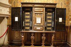 Jewel cabinet , Château de Chenonceau , France 