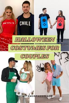 If you have no clue what couples costume you can wear this year don't worry, in this post we're going to show you 31 trendy Halloween costumes for couples.