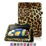 Amazon Kindle Fire HD 7″ Standing Leather Case, Onyx Black (will only fit Kindle Fire HD 7″) | Tablet Keyboard Cover