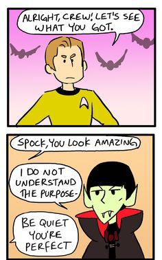 A very Star Trek Halloween