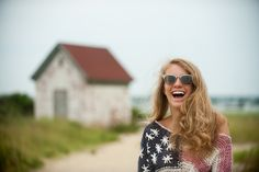 Having fun taking #portraits on a #cloudy day in #Nantucket