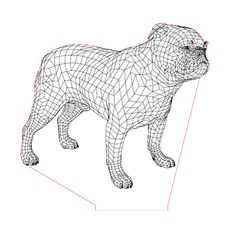 English bulldog illusion lamp plan vector file for CNC - 3d Illusion Art, Led Glow Lights, Dog Years, Bulldog Puppies, Vector File, Cnc, Illusions, Diy And Crafts, Lion Sculpture