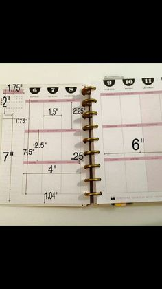 Dimensions for the happy planner
