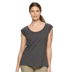 Women's Columbia Meadow Wing Burnout Tee, Size: