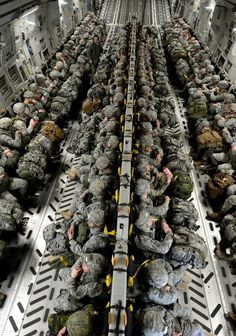 The 82nd Airborne....