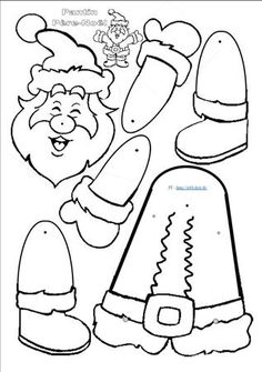 Kerstman trekpop   Creative Expressions