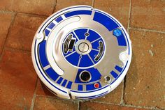 This Decal Set Transforms a Roomba Into R2-D2