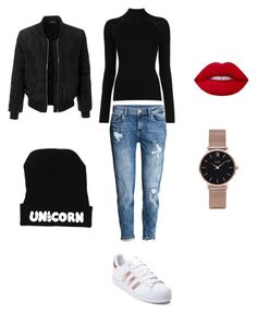 """#casualstyle"" by innaboutsi on Polyvore featuring Misha Nonoo, H&M, adidas, CLUSE and LE3NO"
