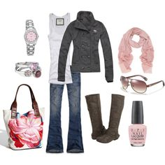 jacket, fashion, purs, cloth, soft pink, fall outfits, boots, bags, coat