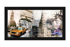 Tangletown Fine Art Downtown New York by Bresso Sola Framed Graphic Art Framed Canvas Prints, Canvas Frame, Canvas Art, Metal Wall Art, Framed Wall Art, Wall Art Decor, Downtown New York, Affordable Art, Online Art Gallery