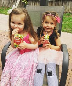 Besties  #summerandlyla #cheekymonkeys #sweetandinnocent