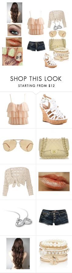 """""""Untitled #58"""" by stephyluvscarrots ❤ liked on Polyvore featuring Wet Seal, GUESS, Giorgio Armani, Fat Face, Blue Nile, Almost Famous and Forever New"""